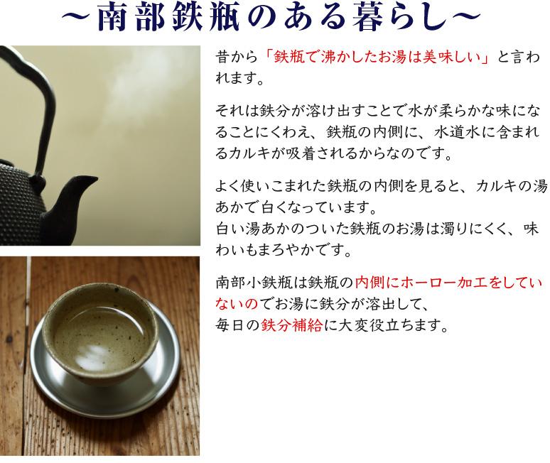 岩鋳 南部小鉄瓶 日本製